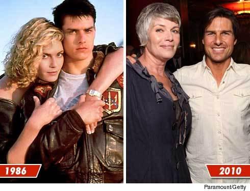 MFWTF? Kelly McGillis looks like a Granny!  A lesbian one...